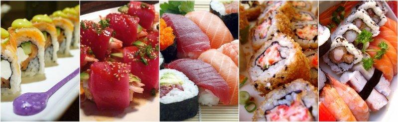 Zutaten sushi selber machen